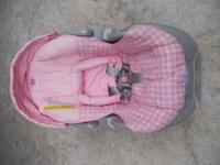 Graco infant car seat for sale for $35. Call Jen @  if