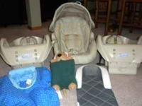 Infant car seat purchased in 2010. Like new with extra