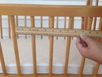 Up for sale is a rocking infant cradle. The space