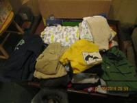picture # 1 boy sleepers, trousers and tee shirts