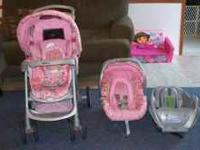 Car seat/stroller combo for sale includes the car seat