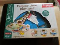 Barely used tummy time mat. Has all of the pieces,