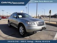 ONLY 69,458 Miles! FX35 trim. Heated Leather Seats,