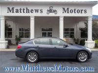 JUST ARRIVED!**2007 INFINITI G35x**2-OWNERS**CLEAN