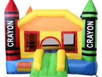 This is our Inflatable Castle, which is a bounce house