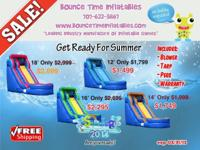Inflatable Giant Water Slides On Sale! Industrial Grade