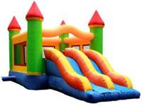 We RENT Inflatable Bounce Houses & Dunk Tanks!! Great