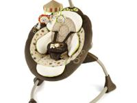 InGenuity Cozy Coo Sway Seat plug in baby swing $