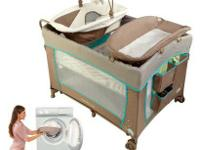 Ingenuity Washable Playard with Dream Centre - Sahara
