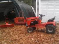 Ingersol yt 114 lawn tractor with b/s twin 14 runs