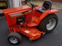 "This is an Ingersoll 4016 tractor with a 48"" cutting"