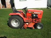 "Ingersoll 4120 tractor with 48"" hydraulic drive mower"