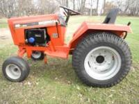 For Sale or trade Ingersoll 446 Garden Tractor with