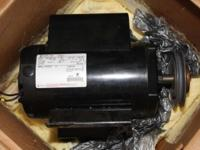 Ingersoll Rand 5hp compressor electric motor. Electric