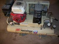 "I have a used Ingersoll Rand ""Wheel Barrel"" portable"