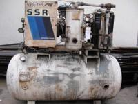 For sale we have a 1984 Ingersoll rand SSR Compressor.
