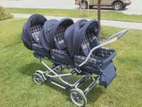Inglesina Trio Triple stroller can take a little edge