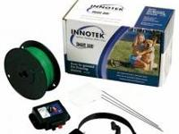 The Innotek Pet Fence with patented run-through
