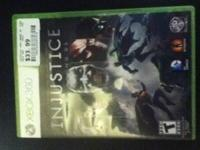 I have a Xbox 360 game for sale Injustise God Amoung Us