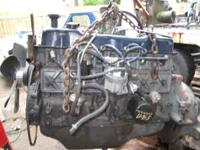 1990 ford 300 INLINE v6 motor with 2000 hours runs