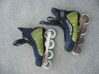 Easton inline hockey skates. Size 9D. Hardly worn and