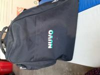 Nuvo inline skate bag in good condition. Black 2 sets