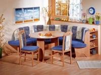 Innsbruck Breakfast Nook set in Blue Made of quality