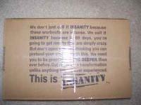 I am selling my brand new unopened SEALED Insanity 60