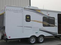 2013 Palomino Stampede Expandable/Hybrid S-238 camper,