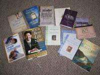 13 books total...some include: Joel Osteen best seller,