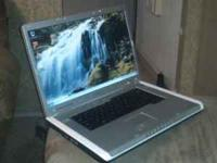 Inspiron 9300 laptop for sale. It has a 250GB hard