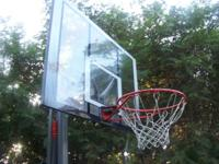 THIS HOOP IS IN GREAT CONDITION AT A GREAT PRICE. NO