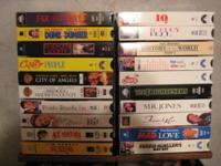 I have a fantastic pickup of 58 VHS motion picture
