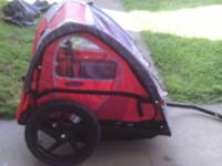 Instep brand bicycle trailer. Used only twice. Fits up