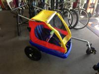 We have a somewhat utilized Instep Duo Cruiser. It is a
