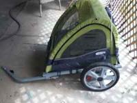 We have a newer bike trailer that our kids outgrew to