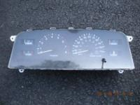 198-1993 Toyota pickup instrument cluster