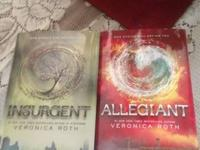 Last 2 books of the Divergent series. Bought 3 days ago