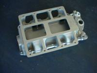WEIAND intake manifold for small block chevy. for GMC