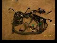 up for sale is a obd1 ls wiring harness thats still in
