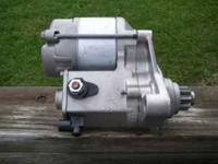 I have a brand new remanufactured starter. It will fit