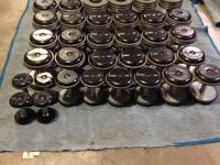 COMMERCIAL WEIGHTS AVAILABLE FOR SALE  full pro style