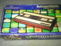Intellivision system with box, inserts, 2x controllers,