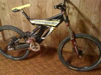For sale is my: Intense M1 downhill bike. Lots of