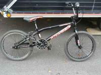 I have for sale my almost new Intense Pro XL BMX bike.