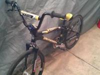 INTENSE JR BMX BIKE.. CRUPI HUBS, CRUPI NECK, KING