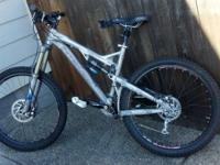 2009 Intense Tracer Size medium. Awesome. Bought for my