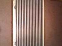 32 x 12 x 3 CPX intercooler. Tested at 36 lbs. If