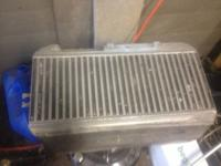 I have a used intercooler for sale. I was going to put