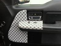 CUSTOM FABRIC: GREAT FOR CAR INTERIOR, RV, SUV, BOAT,